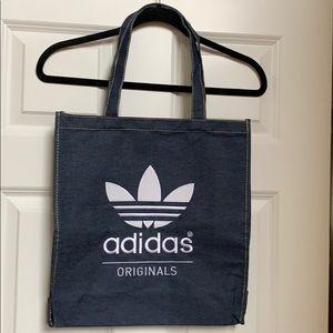 Adidas denim tote
